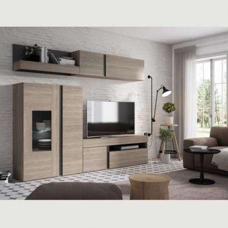 Mueble salón TVcon LED