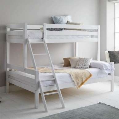 Litera Capricho blanca cama...
