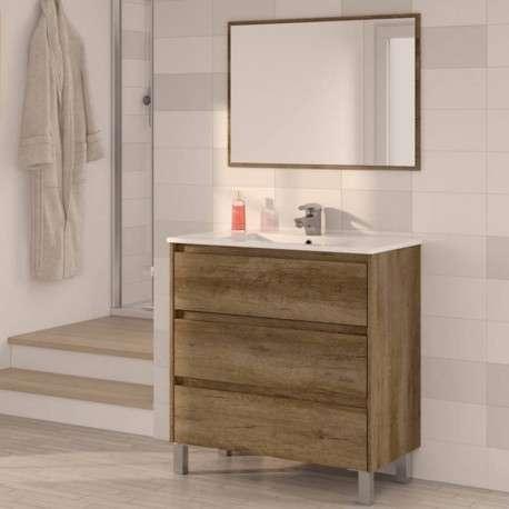 Mueble baño 3 cajones