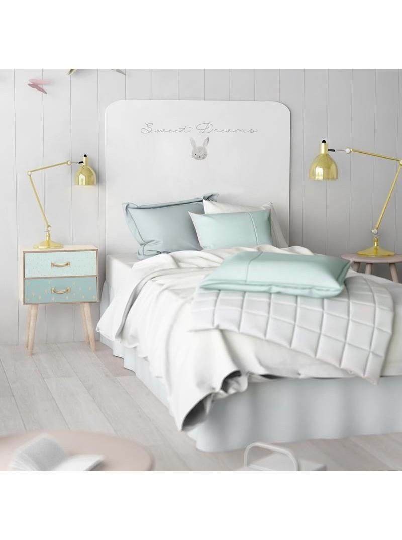 Cabezal infantil Sweet Dreams decorado conejito