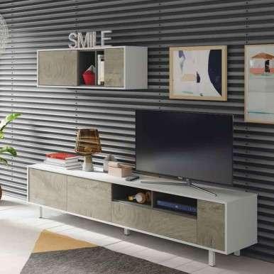 Mueble TV modular para...