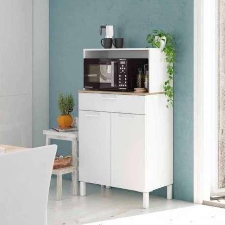 Mueble cocina microondas auxiliar