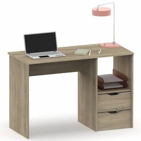 Mesa escritorio Eko 2 cajones color Cambrian