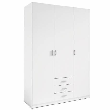 Armario 3 puertas blanco