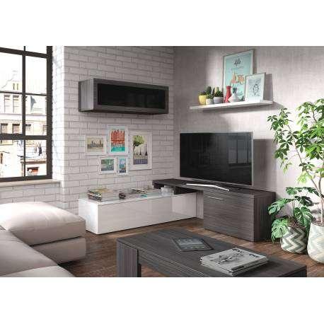 Mueble salón TV esquinero