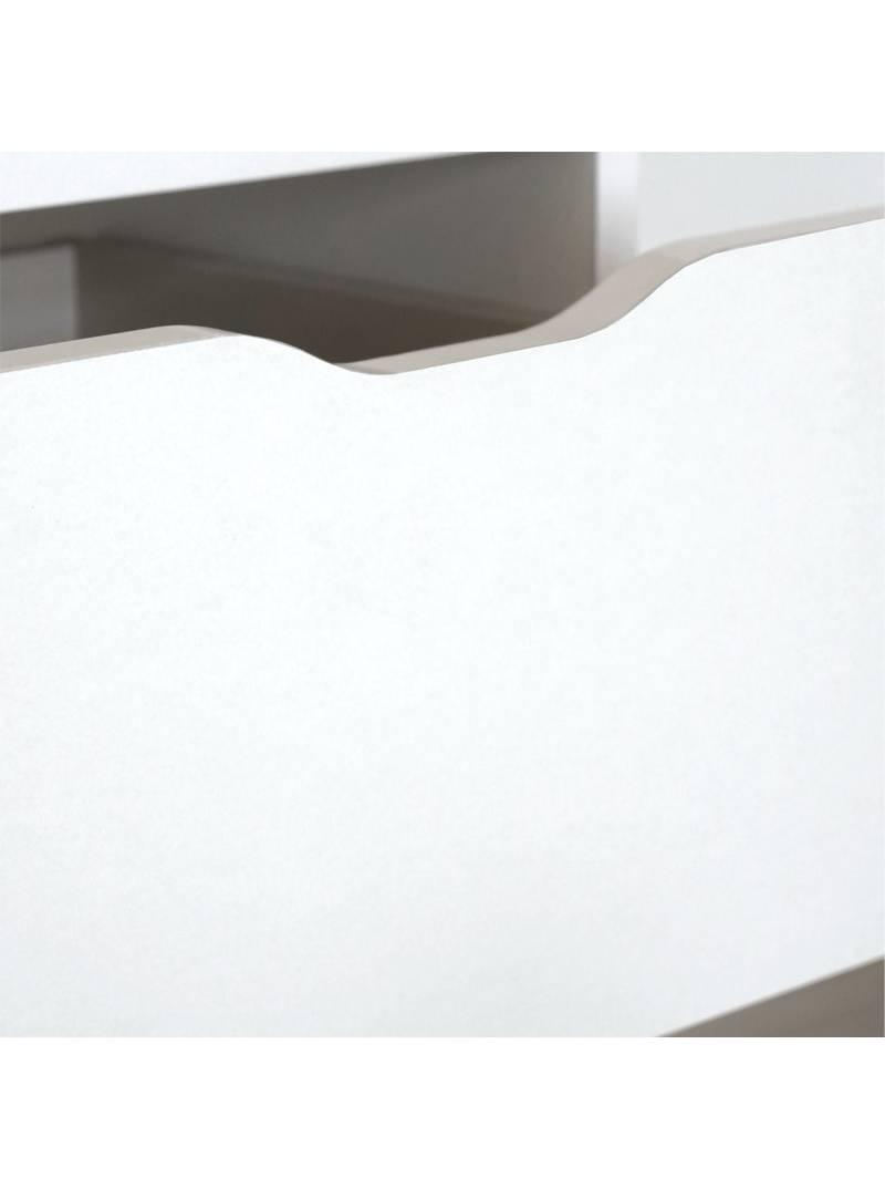 Cajonera Eko color blanca 5 cajones oficina
