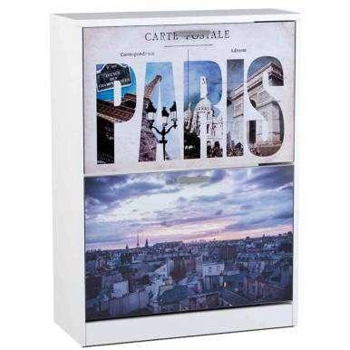Zapatero París 2 puertas...