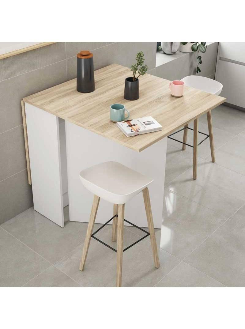 Mesa cocina abatible Fly auxiliar