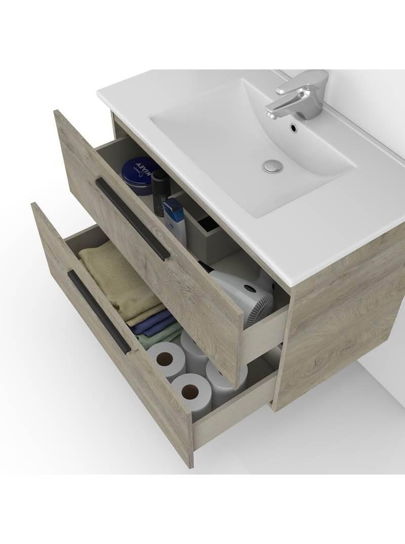 Mueble baño Aruba Roble Alaska