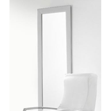 Espejo tapizado plata