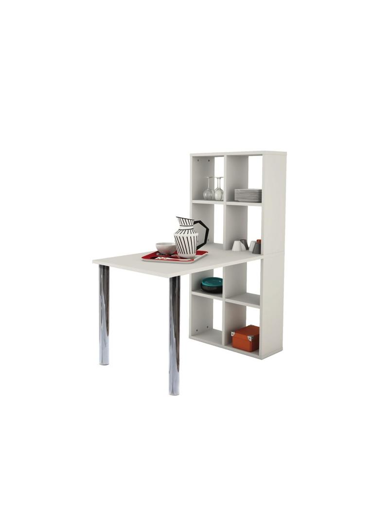 Mesa escritorio con estanteria
