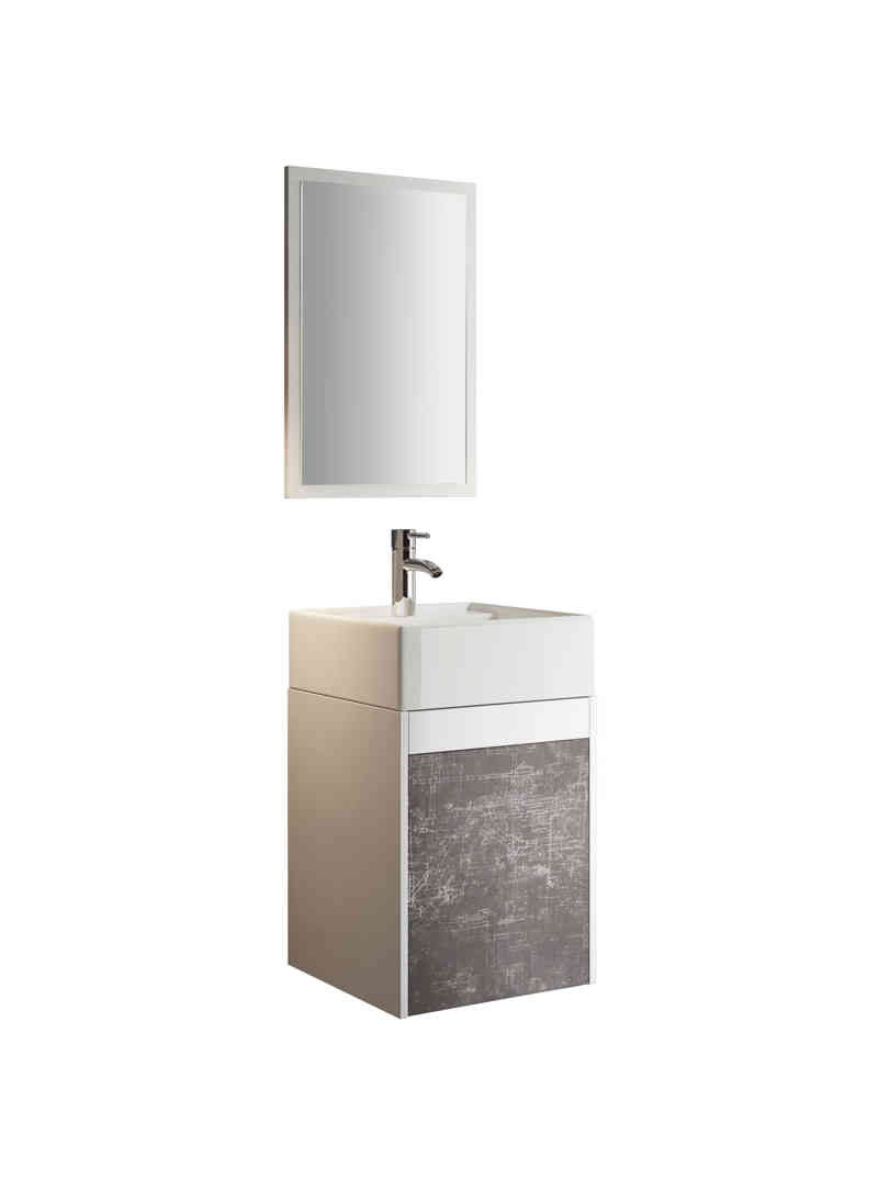 Mueble de baño aereo