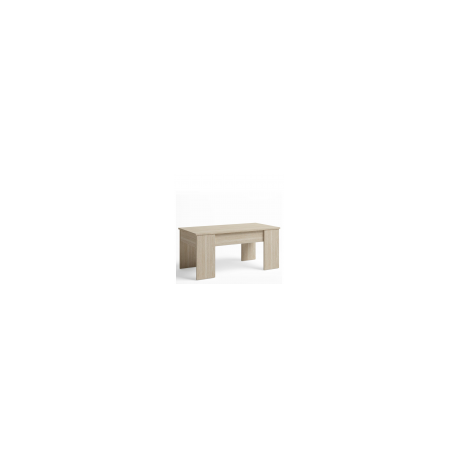 Mesa centro elevable color sable