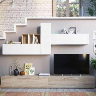 Salón TV modular.