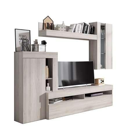 Mueble salón TV con LED