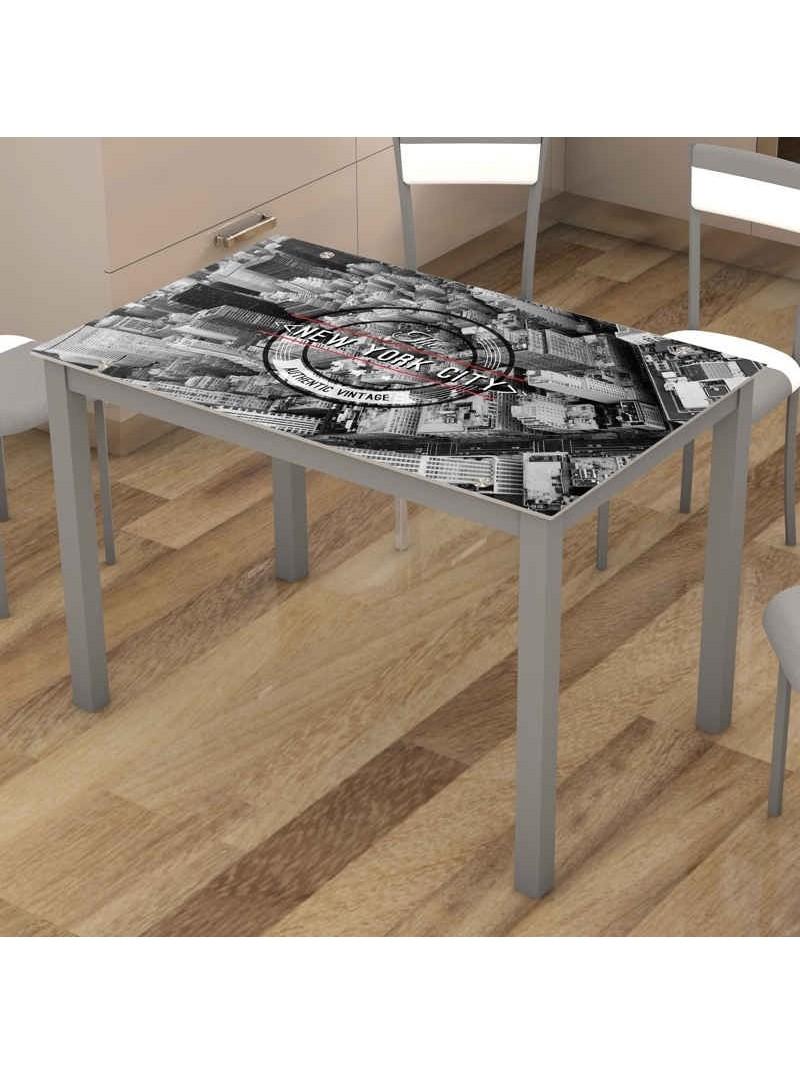 Mesa de cocina fija